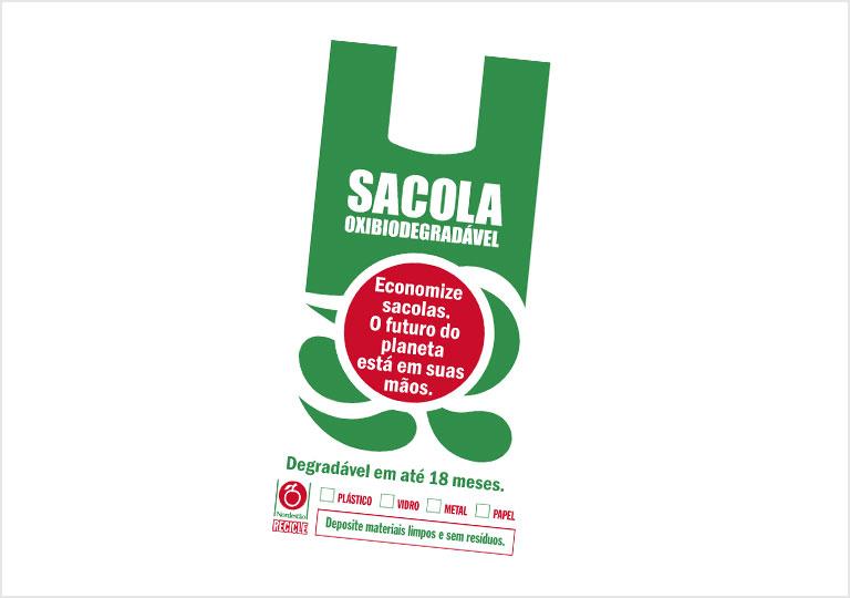 Distribuição de Sacolas Oxibiodegradáveis
